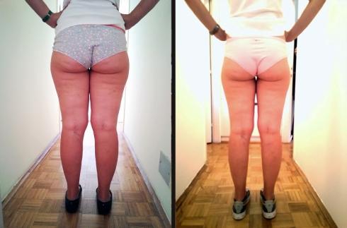 PRE (slika levo) I POSLE (slika desno)  - s otpozadi
